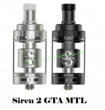 Digiflavor Siren 2 GTA MTL clearomizer 4.5ml