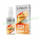 Príchuť LIQUA Mix & Go: Turkish Tobacco (Turecký tabak) 6ml