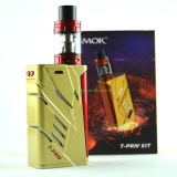AKCIA SMOK T-Priv 220W TC Kit s TFV8 Big Baby 5ml zlatý
