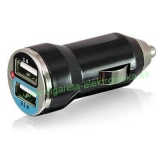 USB adaptér 12V double 2,1A+1A