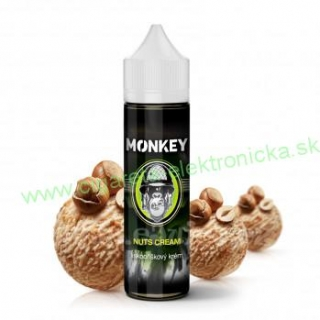 Príchuť MONKEY LIQUID - Nuts Cream (Lieskovo orieškový krém) 12ml
