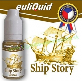 TABAK SHIP STORY - Príchuť Euliquid -  10ml
