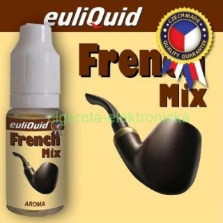 Tabak FRENCH MIX - Príchuť Euliquid -  10ml