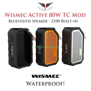 AKCIA WISMEC Active Bluetooth Music TC Box MOD 2100mAh - Fialová -
