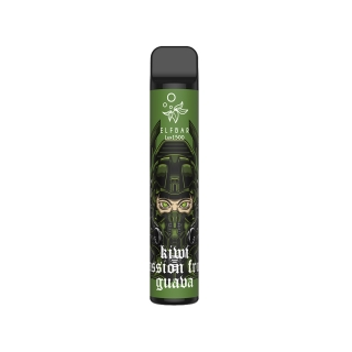 Kiwi Passion Fruit Guava - Elf Bar Lux 1500 e-cigareta 850mAh 2%