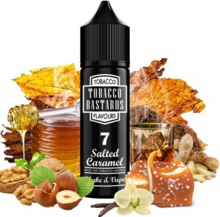 Príchuť Tobacco Bastards Shake & Vape: No. 07 Salted Caramel 12ml